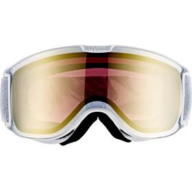 UVEX Skyper LM - Gafas de esquí - blanco/Dorado
